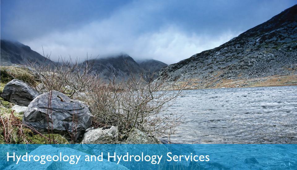 Slider Hydrogeology